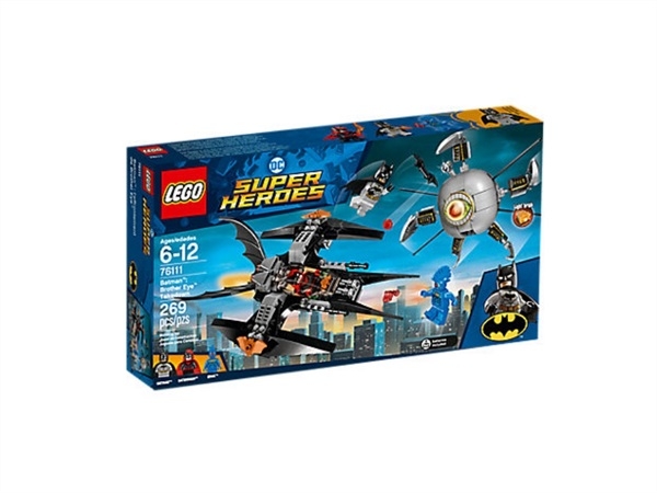 Lego Batman scontro con Brother Eye 76111