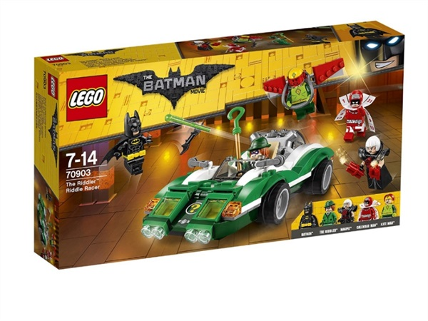 Lego Batman Il Riddle Racer di The Riddler 70903