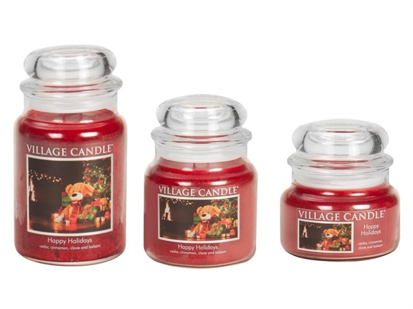 Candela profumata Village Candle®, Happy Holidays
