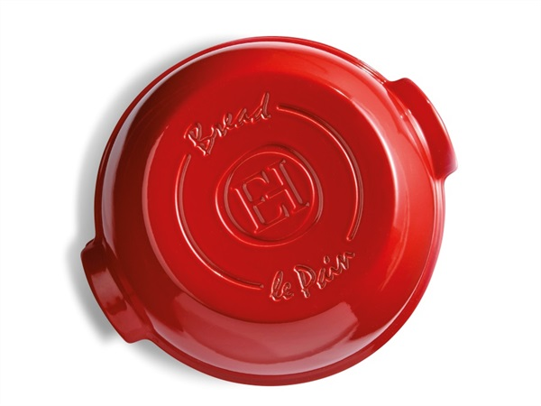 EMILE HENRY-EMILE & CO Cloche pane - Grand Cru, rosso, Emile Henry