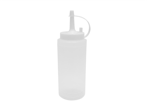 ZENKER Dispenser trasparente Zenker per decorare dolci, 200 ml