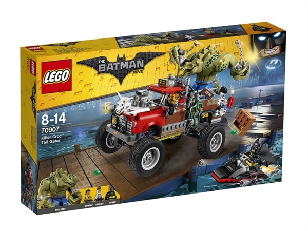 Lego Batman La Tail Gator di Killer Croc 70907
