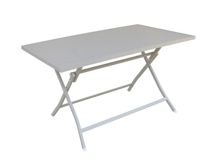 Ferramenta Per Tavoli In Legno Pieghevoli.Magazzini Cosma S P A Tavolo Alabama In Alluminio Pieghevole