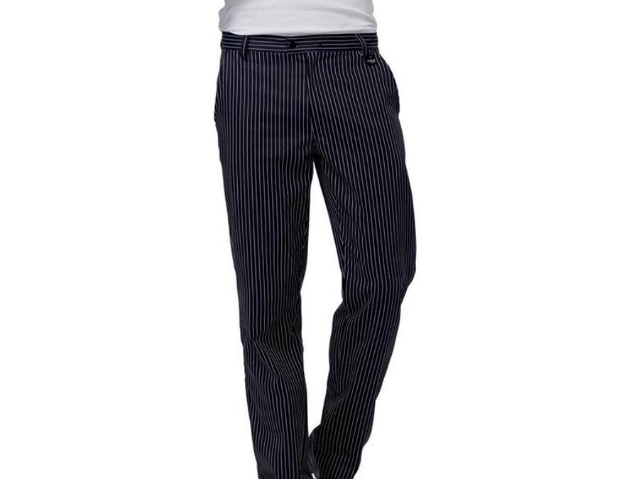 ba0007559d pantalone-denzel-bianconero-abbigliamento-normativa-haccp · Pantalone  Denzel gessato, consigliato per la ristorazione, il lavoro in hotel e ...