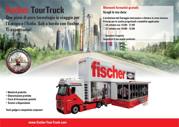 Fischer Tour Trucks - Corsi di formazione gratuiti