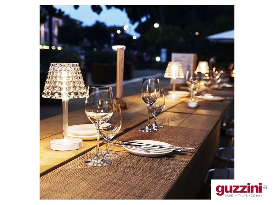 Fratelli guzzini s p a lampada da tavolo ricaricabile tiffany
