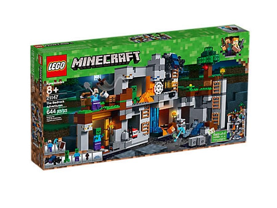 Armatura Di Catene Minecraft.Lego Minecraft Avventure Con La Bedrock 21147