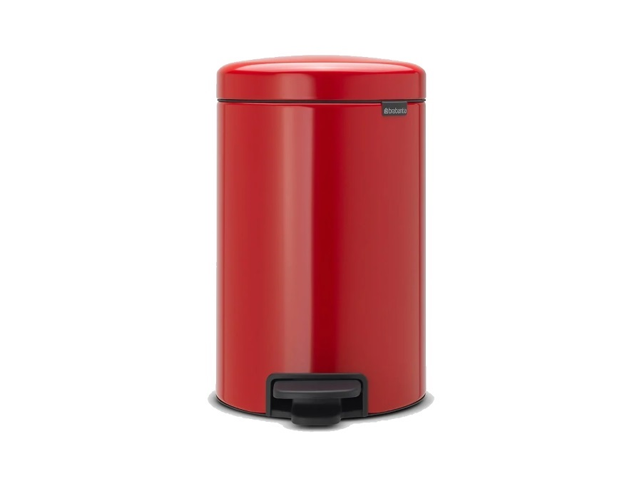 BRABANTIA PATTUMIERA A PEDALE NEW ICON PASSION RED 12 L