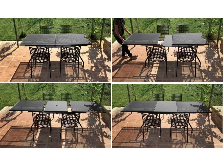 Tavolo Allungabile Emu.Piano Tavolo Allungabile Emu 160 50x100 Cm Bianco 23