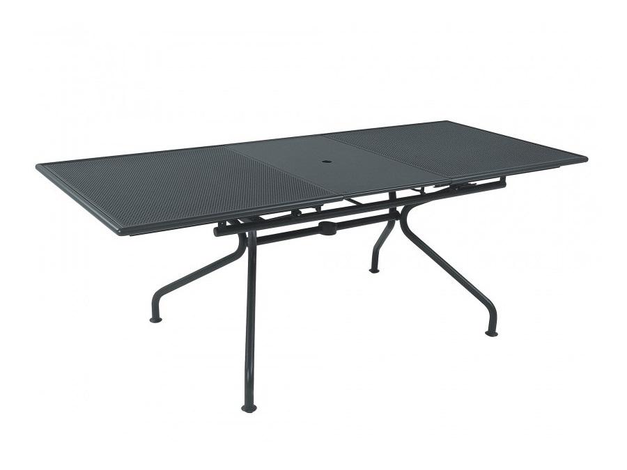 Tavolo Allungabile Emu.Piano Tavolo Allungabile Emu 200 70x100 Cm Ferro Antico