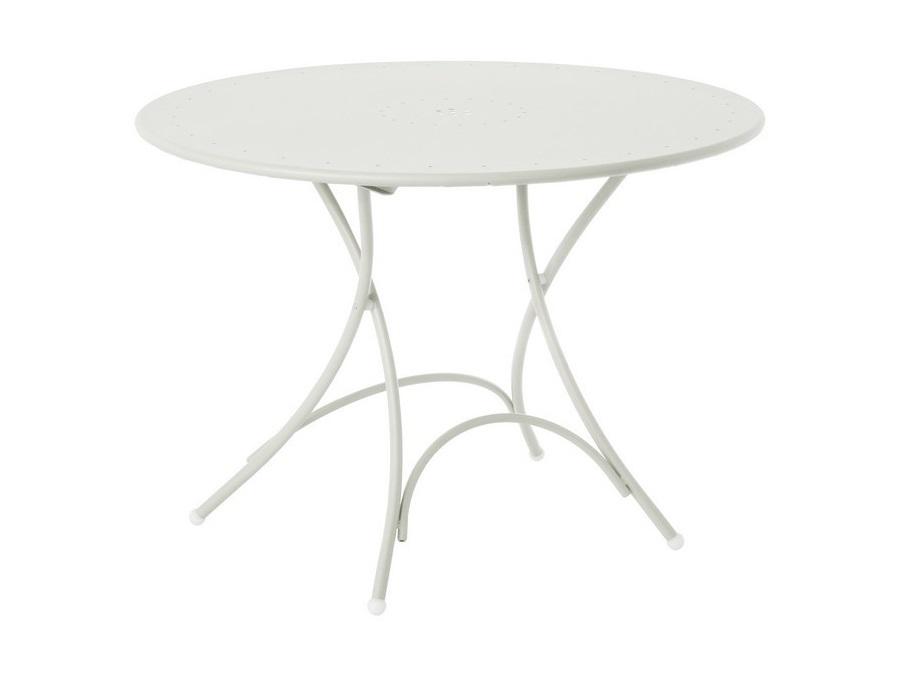 Emu pigalle tavolo tondo pieghevole emu Ø cm bianco