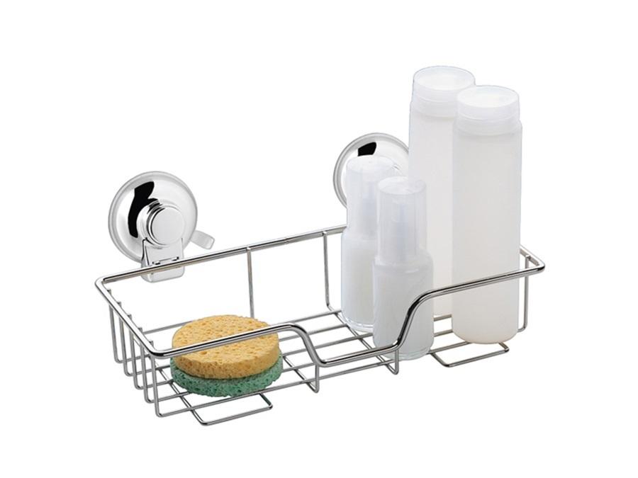 Accessori Da Bagno Con Ventosa : Gedy spa porta oggetti in filo con fissaggio a ventosa gedy hot