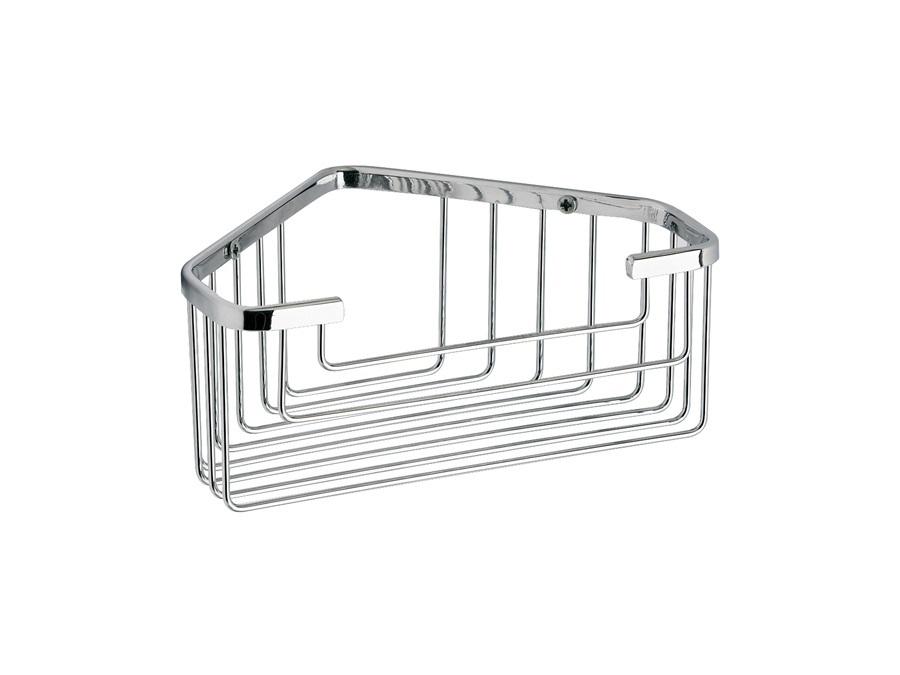 Gedy spa porta sapone oggetti angolare singolo in filo gedy