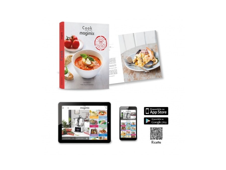MAGIMIX Robot da Cucina Cook Expert Nero Magimix | Acquista su ...