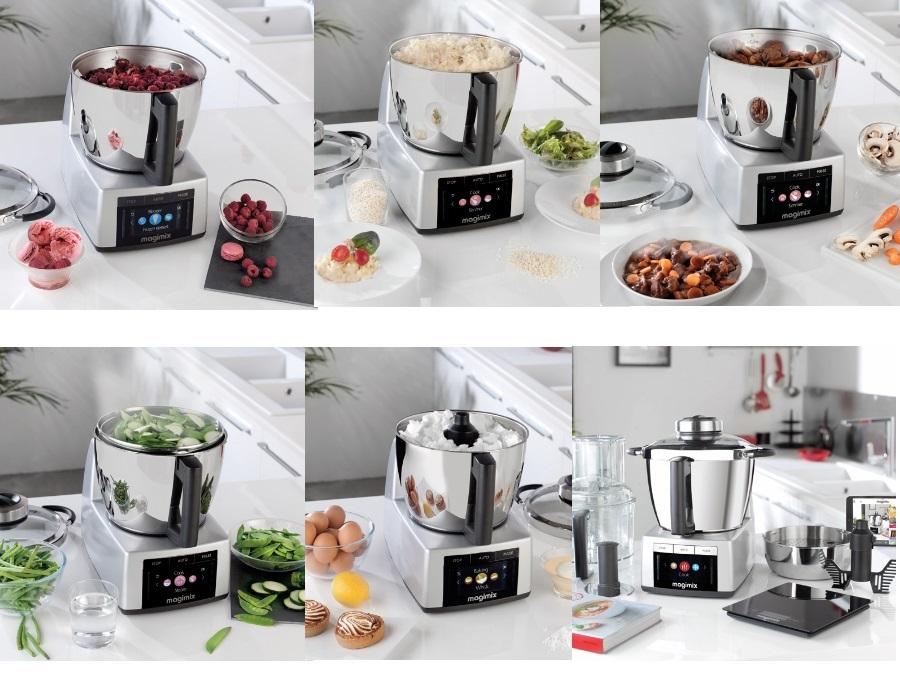 MAGIMIX Robot da Cucina Cook Expert Rosso Magimix | Acquista su ...