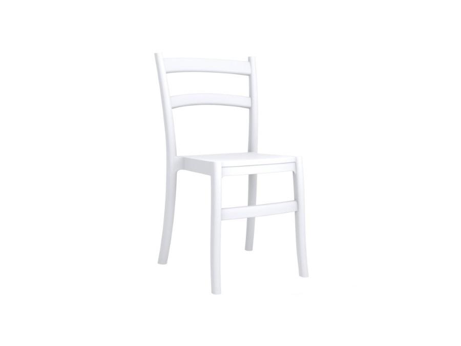 Mediterraneo by gpb sedia tiffany in polipropilene color bianco