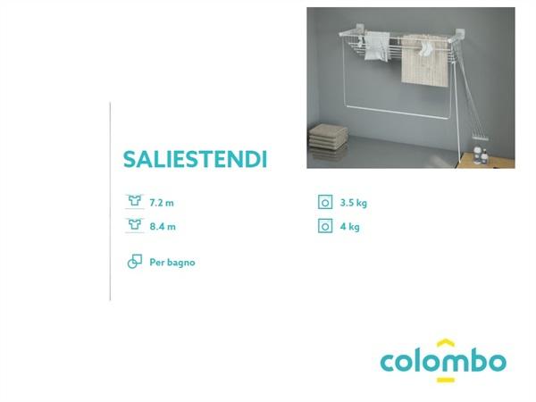 Colombo new scal s.p.a. stendibiancheria da bagno saliestendi
