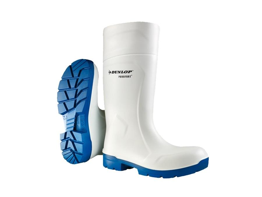 migliori scarpe da ginnastica b9666 b3156 Dunlop stivale purofort foodpro multigrip, bianco e blu | acquista ...