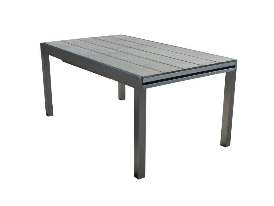 Tavoli Allungabili In Alluminio.Magazzini Cosma S P A Tavolo Barbados Allungabile In Alluminio E